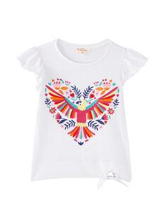 T-shirt à manche courte brodé  JAMARTI3 / 20S901P3TMC000