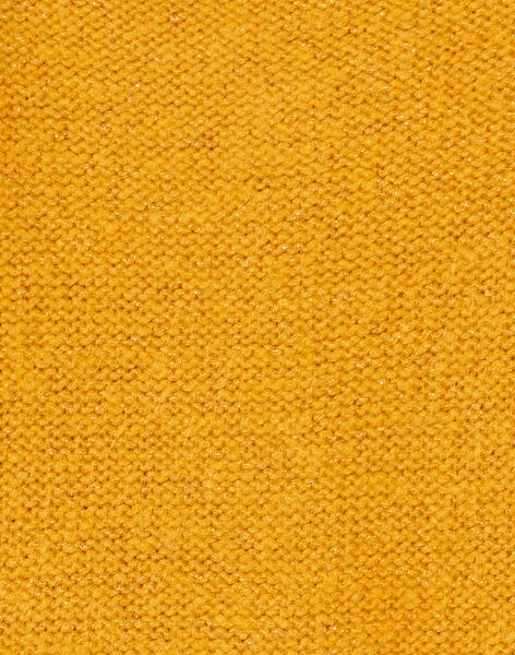 Cardigan avec lurex doré à manche longue KAJOCAR3 / 20W90157D3C107
