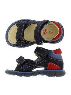 Sandale en cuir bébé garçon CBGSANDMA / 18SK38W7D0E070
