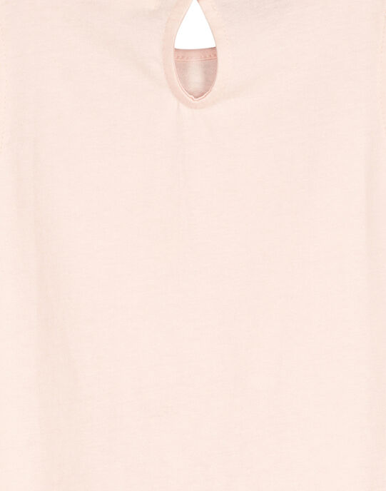 Tee-shirt fantaisie fille FAPOTI1 / 19S901C2TMC307