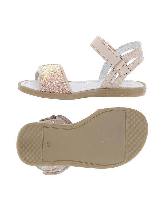 Sandale en cuir fille CFSANDVEL / 18SK35WAD0E030