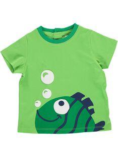 Tee-shirt manches courtes bébé garçon CUJOTI11 / 18SG10S5TMC615