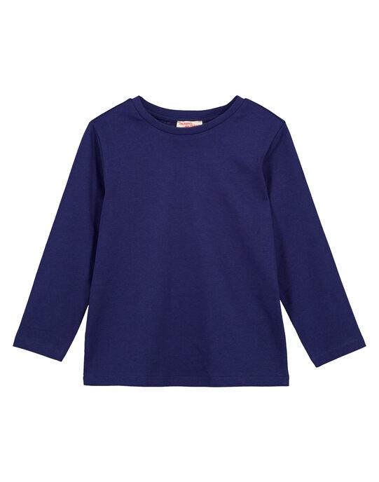 Tshirt Uni MARINE Manches longues GOESTEE2 / 19W902U1D32070