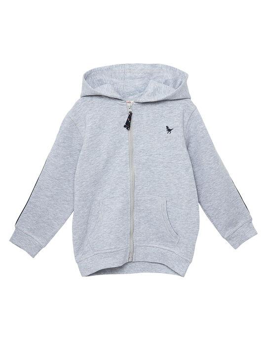 Haut de jogging garçon gris chine JOJOJOH2 / 20S90251D33943