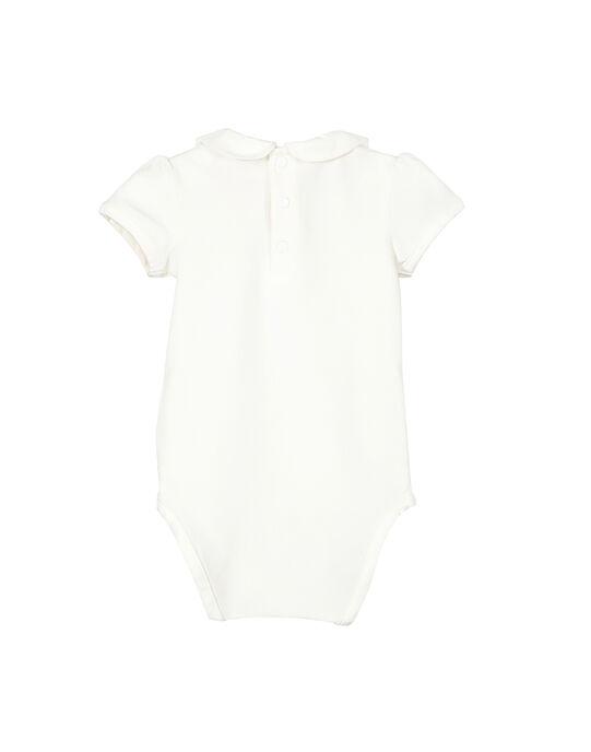 Body manches courtes bébé fille FINEBOD / 19SG09B1BOD000