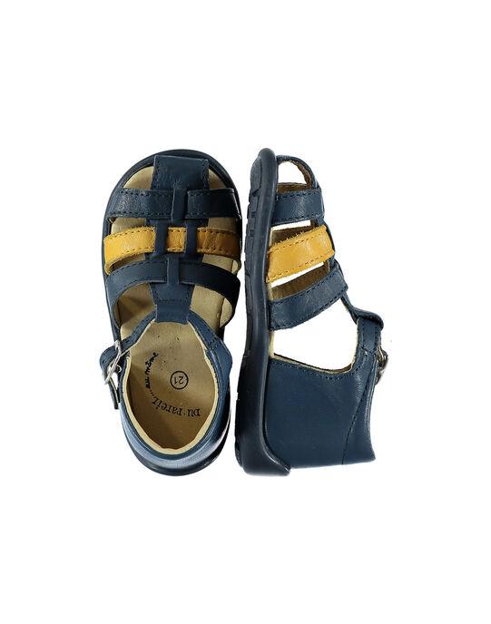 Sandale ville cuir bébé garçon FBGSANDBI2 / 19SK38D1D0E070