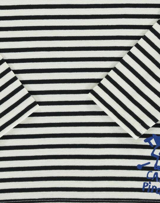 Tee-shirt manches longues garçon COBENTEE1 / 18S902G1TML001