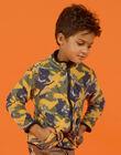 Gilet zippé en polaire réversible enfant garçon MOSAUGIL / 21W902P1GILJ922