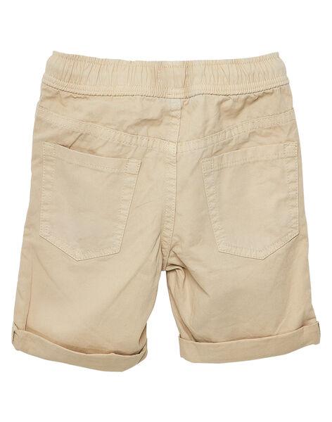 Bermuda garçon uni beige JOJOBERMU6 / 20S902T4D25808