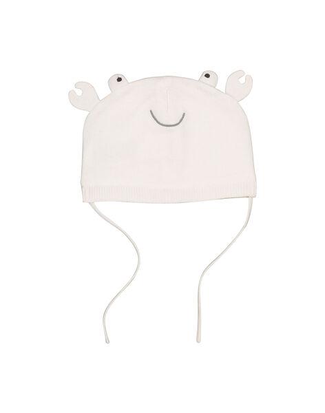 Bonnet de naissance bébé mixte FOU1BON2 / 19SF4211BON000
