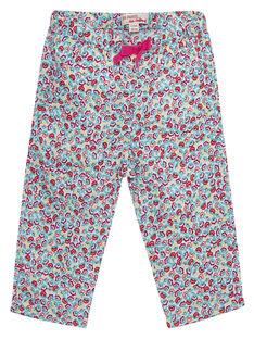 Pantalon imprimé bébé fille JIMARPAN / 20SG09P1PAN000