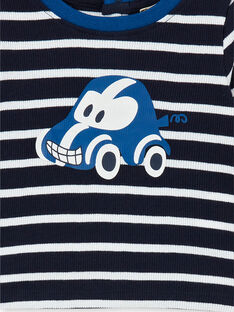 Tee Shirt Manches Longues Bleu marine LUJOTEE4 / 21SG1032TML713