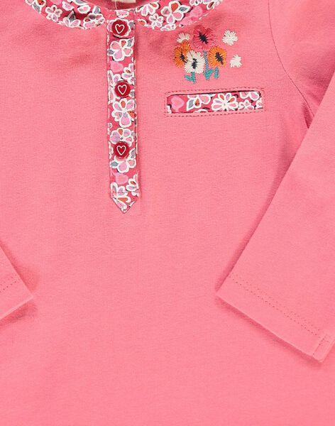 Tee-shirt manches longues bébé fille CIHOBRA / 18SG09E1BRA404