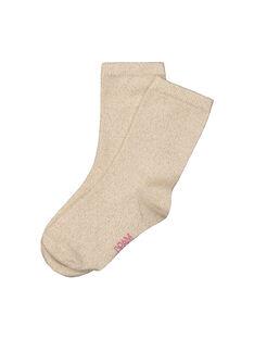 Chaussettes à paillettes fille FYAJOCHO4B / 19SI0135SOQ099