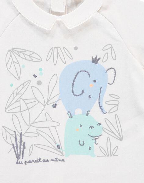 Tee-shirt manches courtes bébé garçon CCGTI2 / 18SF04C1TMC000