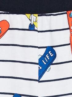 Pyjama Blanc JEGOPYJSKAEX / 20SH122APYJ000