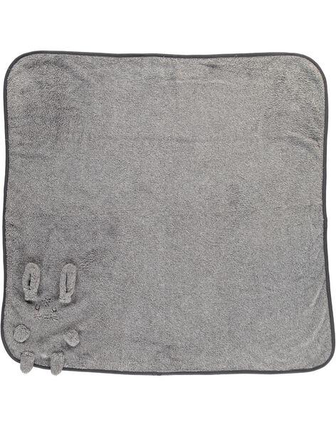 Couverture en fausse fourrure bébé mixte DOU1COU / 18WF4211D4P099
