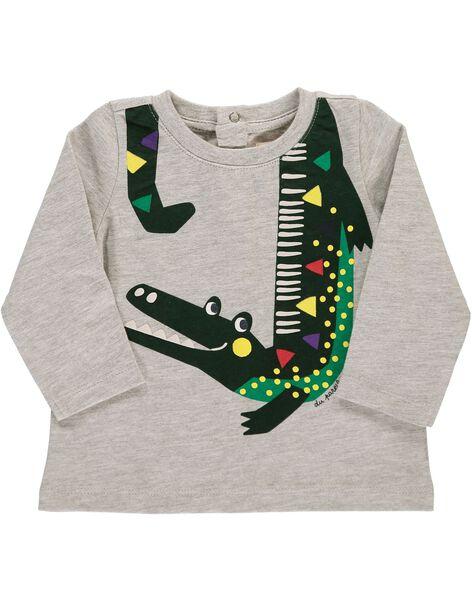 Tee-shirt manches longues bébé garçon DUVIOTEE3 / 18WG10H3TMLJ908