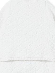 Ensemble blanc en maille naissance mixte LOU1ENS4 / 21SF05H1ENS000