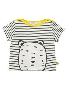 Tee-shirt rayé bébé mixte FOU2TI1 / 19SF05J1TMC000