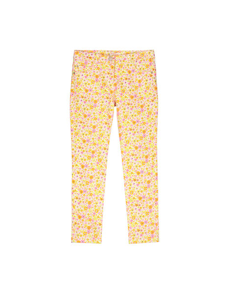 Pantalon fantaisie fille FAPOPANT / 19S901C1PAN099