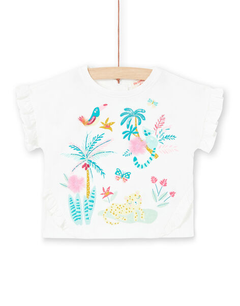Tee Shirt Manches Longues Ecru LIVERTIA / 21SG09Q1TML001