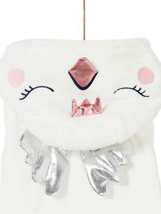 Robe de chambre enfant fille motif cygne KEFAROBSWA / 20WH11B1RDC001