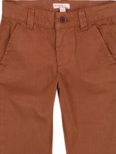 Pantalon chino Camel GOJOPACHI2 / 19W90246D2B804