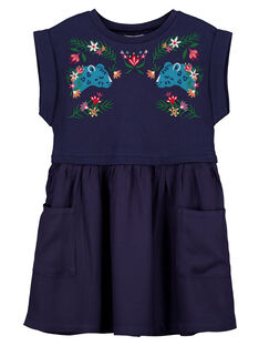 Robe Bleu marine GAMUROB3 / 19W901F4ROB070