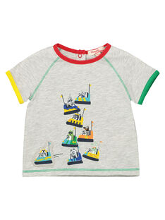 Tee Shirt Manches Courtes Gris FUCOTI / 19SG1081TMCJ906
