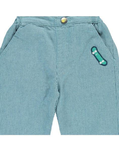Pantalon rayé bébé garçon CUHOPAN / 18SG10E1PAN099