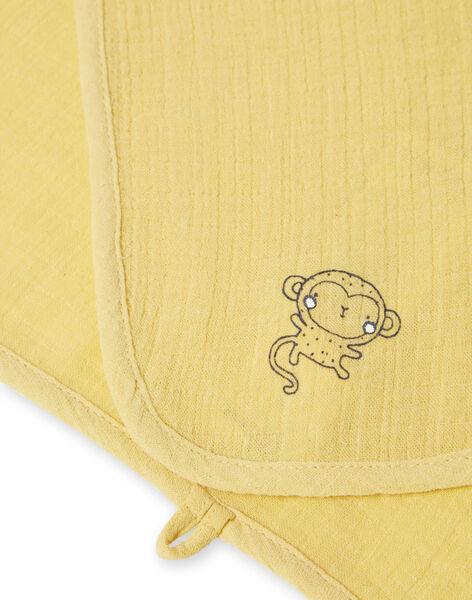 Lot de 2 langes jaunes naissance LOU1LAN2 / 21SF41H1LAN103