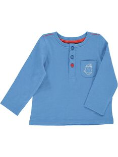Tee-shirt manches longues bébé garçon CUJOTUN1 / 18SG10R2TML221