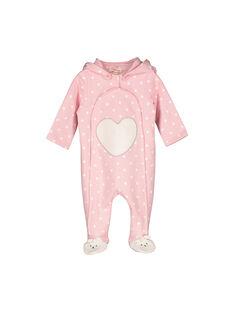 Sur-pyjama en molleton bébé fille FEFISURPYJ / 19SH1341SPY099