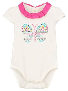 Body manches courtes bébé fille FITOBOD / 19SG09L1BOD000