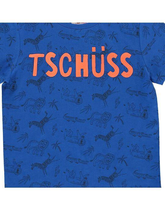 Tee-shirt manches courtes garçon COGAUTI6 / 18S902L6TMCC209