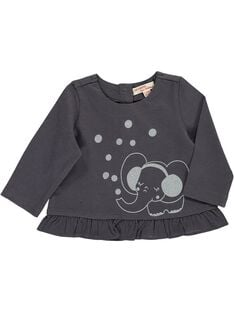 Tee-shirt manches longues bébé fille DIJOTEE6 / 18WG0936TML941