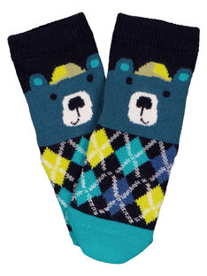 Chaussette motif ours.  GYUTUCHO / 19WI10Q1SOQC203