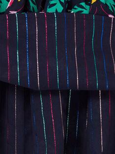 Jupe Bleu nuit LANAUJUP2 / 21S901P2JUPC205