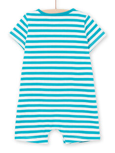 Combinaison courte en jersey bébé garçon LUPLACOM1 / 21SG10T1CBL001
