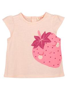 Tee-shirt fantaisie bébé fille FIJOTI9 / 19SG09G4TMC301