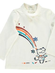 Sous-pull bébé fille DIBLESOUP / 18WG0991SPLA001
