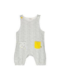 Salopette molletonnée bébé mixte FOU1SAL / 19SF0511SAL099