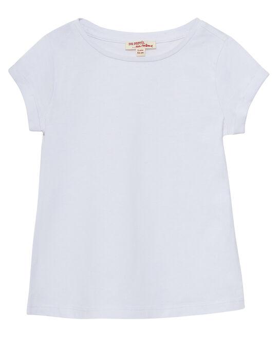 Tee Shirt Manches Courtes Blanc JAESTI1 / 20S90163D31000
