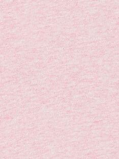 Body manches longues layette fille motif panthère KEFIBODTAS / 20WH1394BDLD314