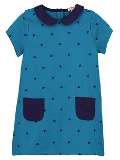 Robe Bleu marine GAJOROB4 / 19W90145D2F715