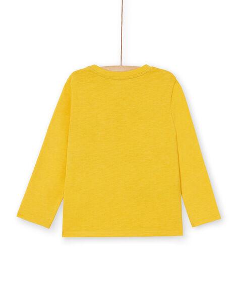 Tee Shirt Manches Longues Jaune LOJOTEE2 / 21S90234TML102