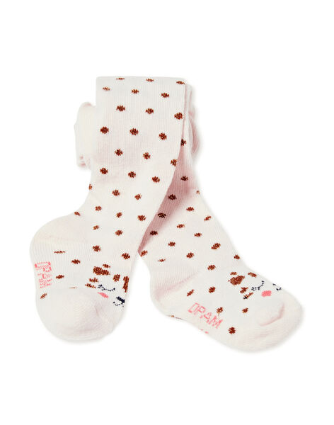 Collant layette fille KYISACOL / 20WI09O1COLD322