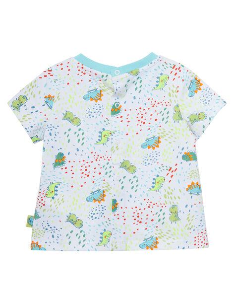 Tee Shirt Manches Courtes Blanc JUBOTI1 / 20SG10H2TMC000