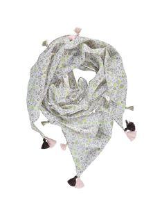 Foulard triangle fille CYACEFOUL / 18SI01M1FOU099